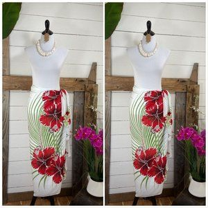 CoverUps by Vintage Aloha 1968 Hawaii Beach Sarong